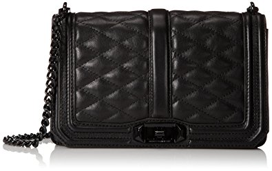 rebecca minkoff bags rebecca minkoff love cross body bag, black, one size ostkjub