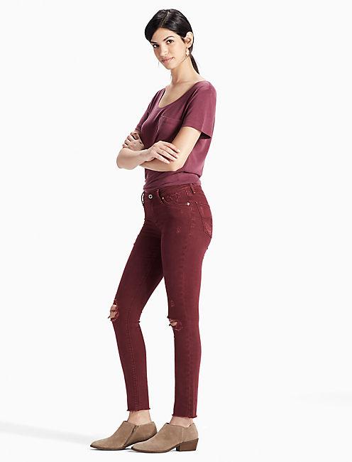 red jeans for women 410 lucky lolita skinny jean nrimfkt