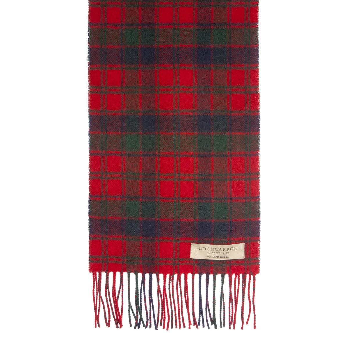 red tartan scarf lochcarron wool tartan scarf robertson red modern esqkudf