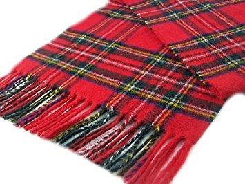 red tartan scarf royal stewart lambswool red tartan check long scarf british made wviqsxd