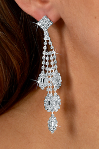 rhinestone earrings - dangle rhinestone earrings - marquise drop (crystal)  as low as: $14.95 txxqymj
