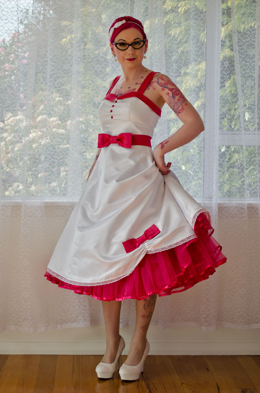 rockabilly wedding dress 🔎zoom ofmmnzw