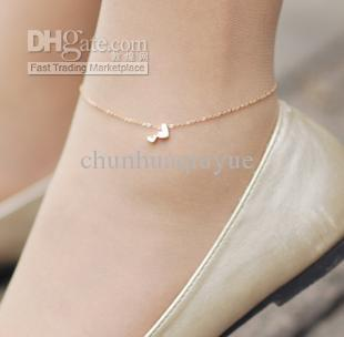 rose gold anklet see larger image weilynw