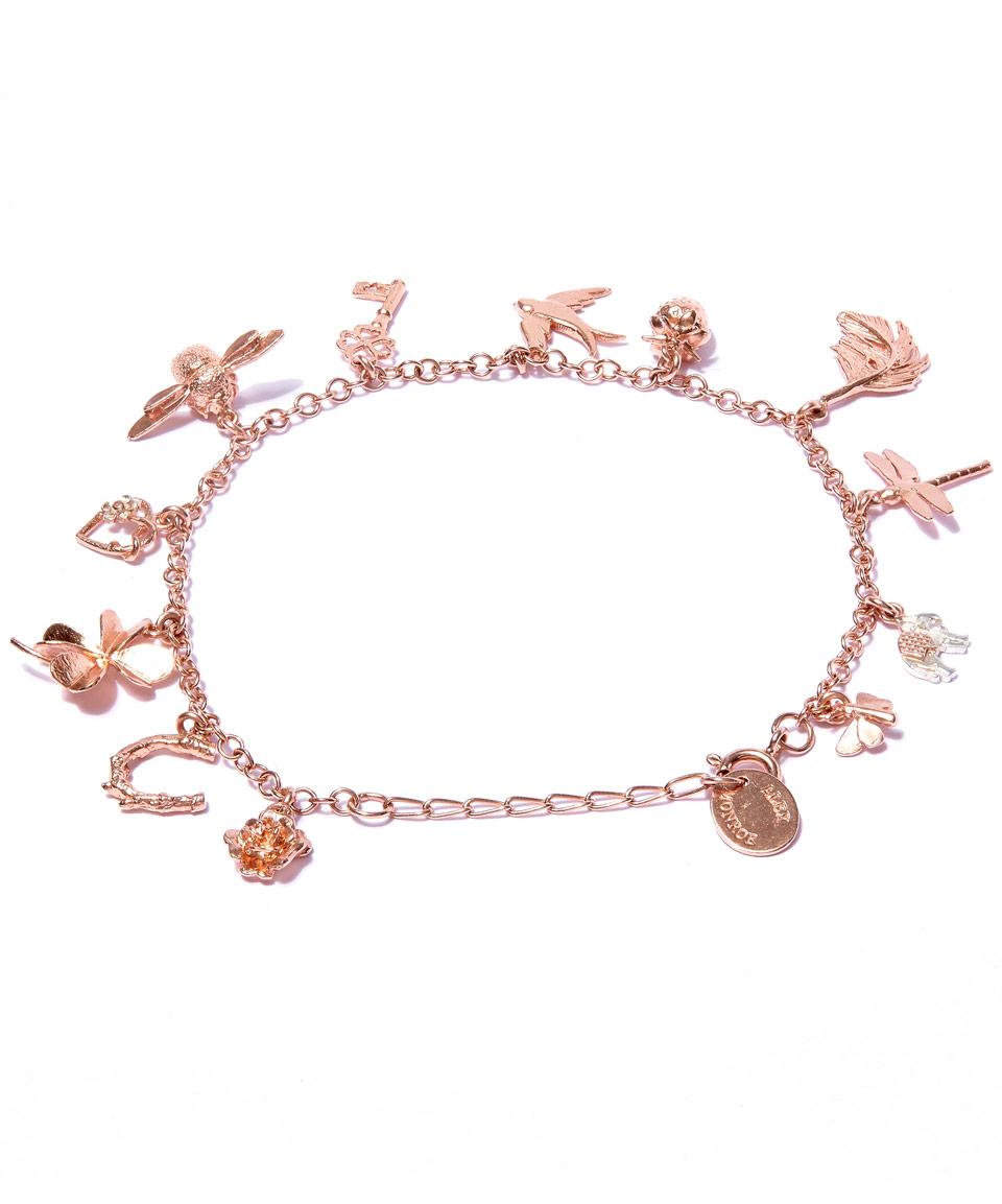 rose gold charm bracelet gallery usoukcy