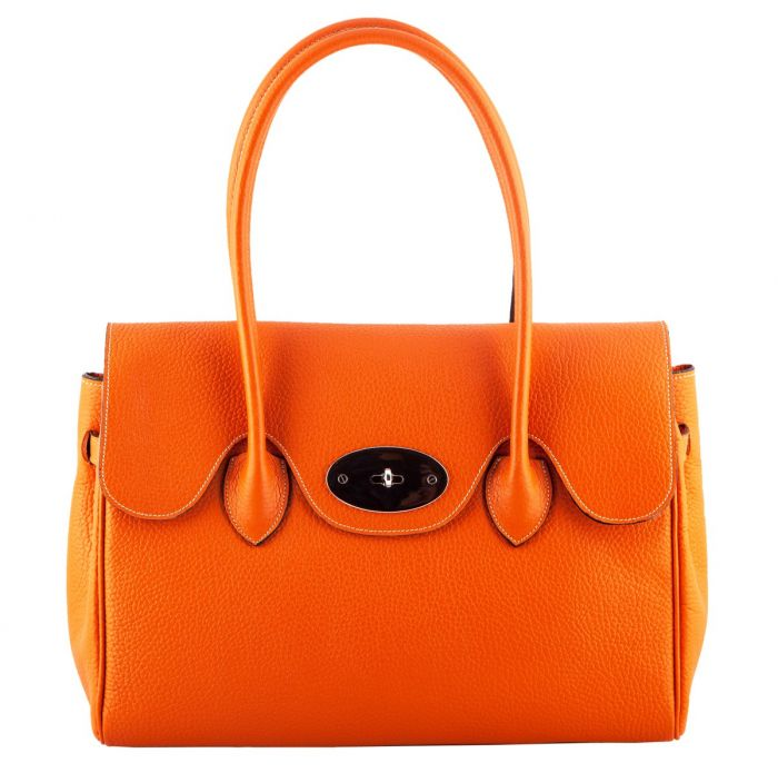 roxy orange leather handbag lskuxgm