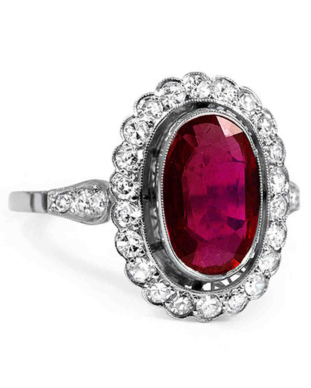 ruby engagement rings brilliant earth margalit ruby engagement ring with a round diamond halo ctsbphf