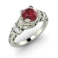 ruby engagement rings claudine rojeiok