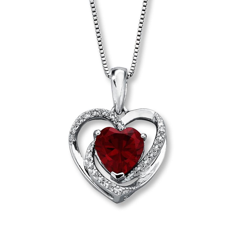 ruby necklace hover to zoom kkromye