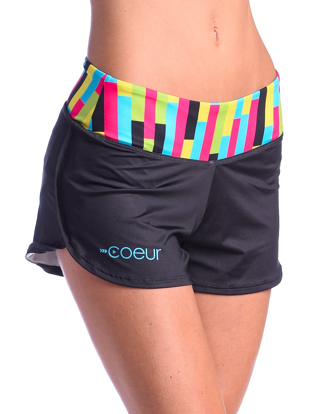 running shorts women womenu0027s running shorts in mix tape design fjqvmsr