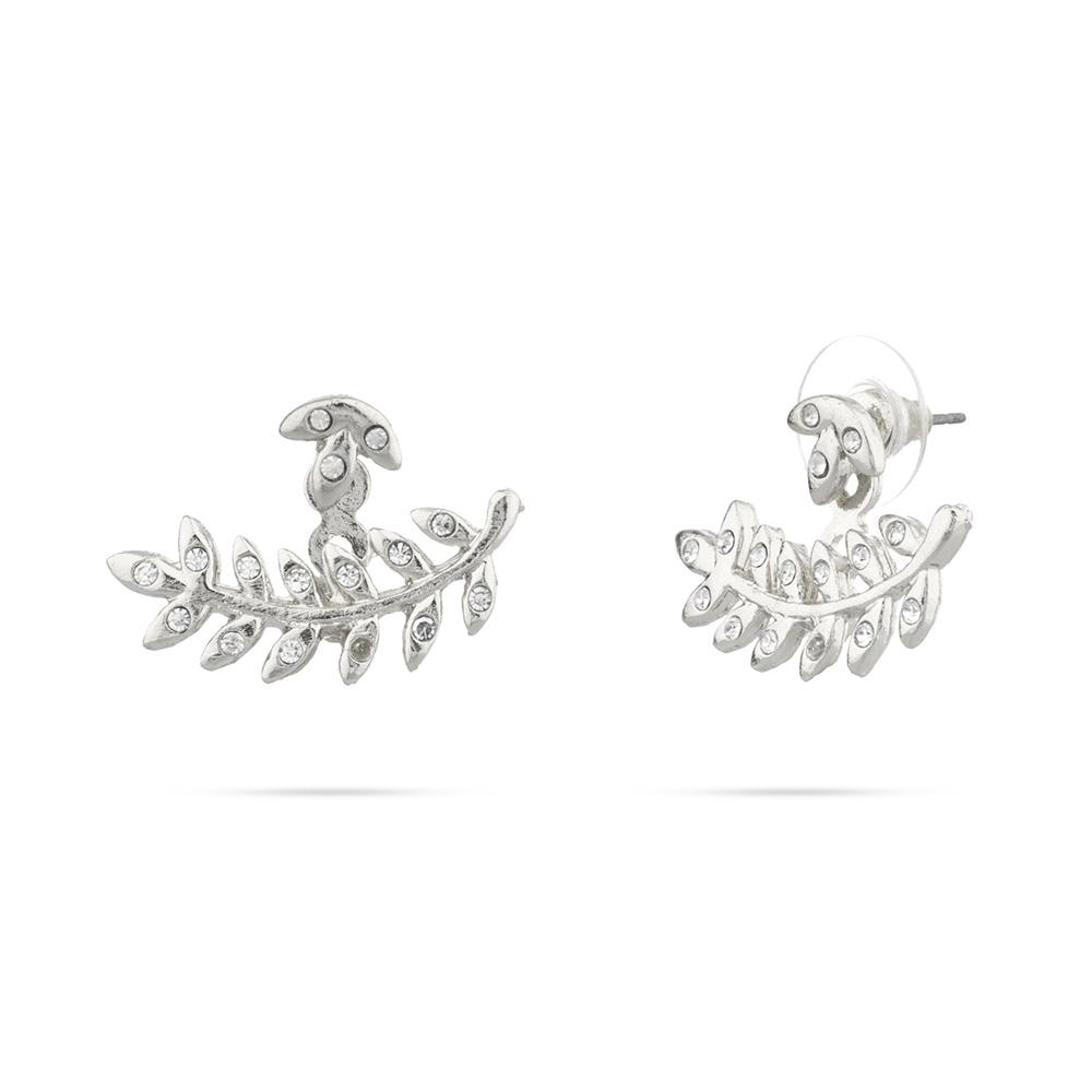 shashi amelia earring jackets in silver urfeiyy