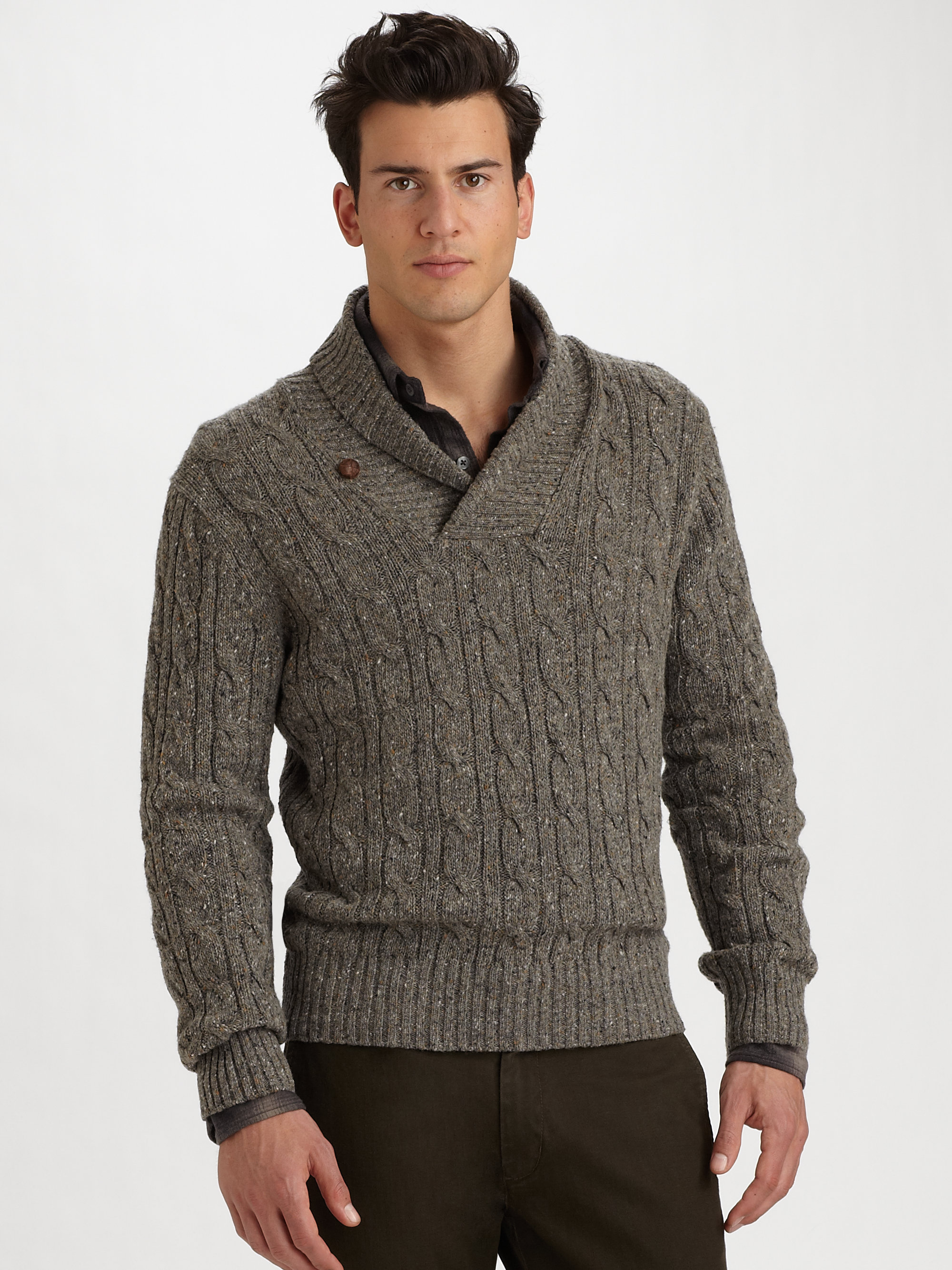 shawl collar sweater gallery siyzgsh