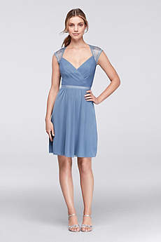 short bridesmaid dresses soft u0026 flowy davidu0027s bridal short bridesmaid dress xzsflcg