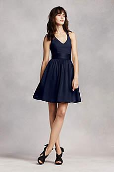 short bridesmaid dresses soft u0026 flowy white by vera wang short bridesmaid dress mngauai