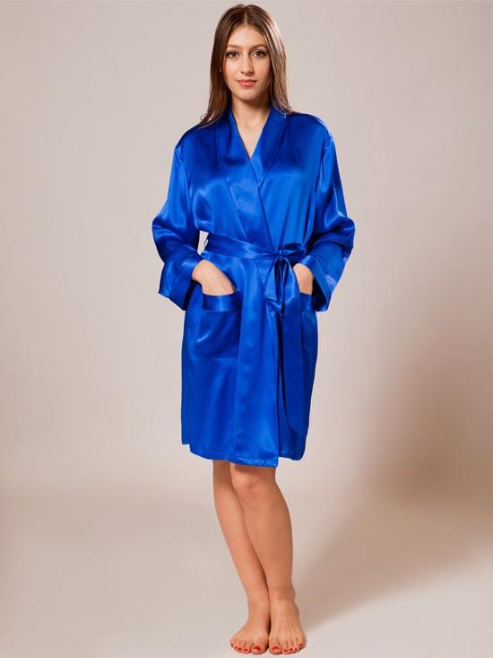 silk robe ... nightwear_cherry silk satin nightwear_indigo xgotltk