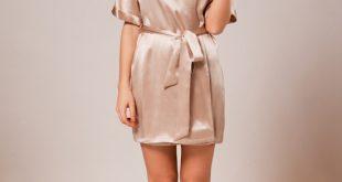 silk robe ... women_charcoal silk robes for women_cappuccino ... hdolcsd