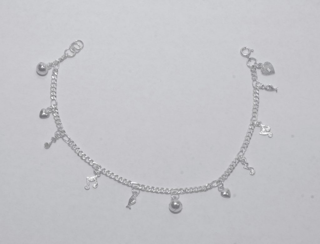 Silver anklets for Charm bell … jrqitmi