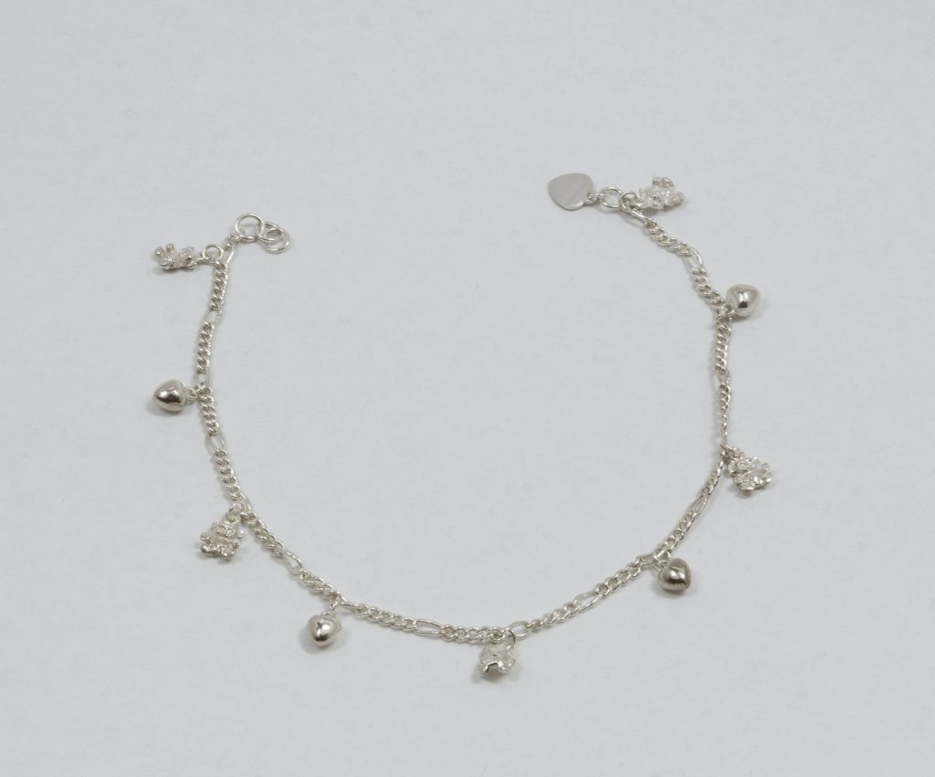 Silver anklets for Charm sterling … jmaxnzm