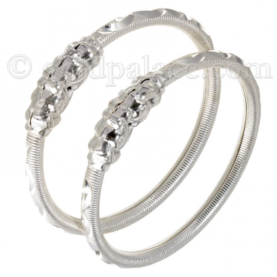 silver bangles for baby size 1-10/16th inches rzistxs