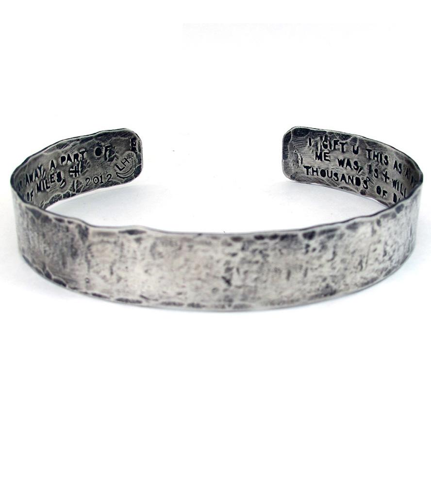 silver cuff bracelet ... custom-silver-cuff-bracelet-laurel-hill-1383836789 ... gvexcil