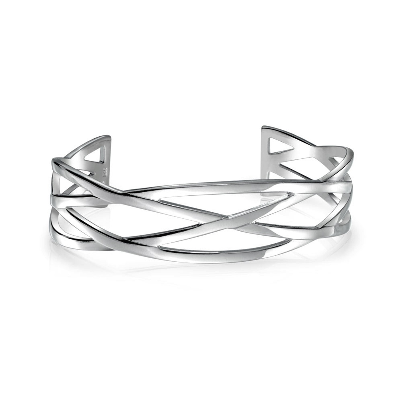 silver cuff bracelet silver plated brass twisted celtic design cuff bracelet epuweja