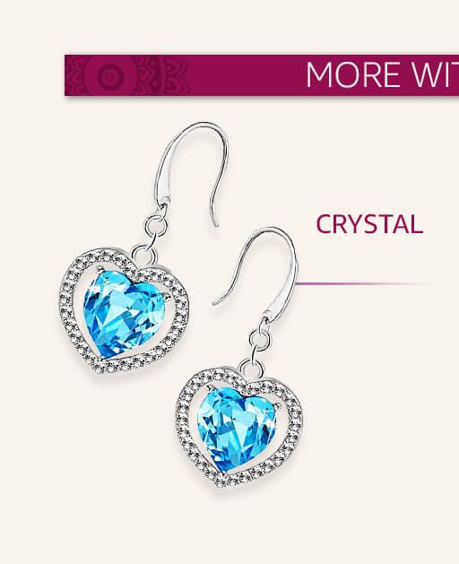 silver jewellery crystal xvrhqmk