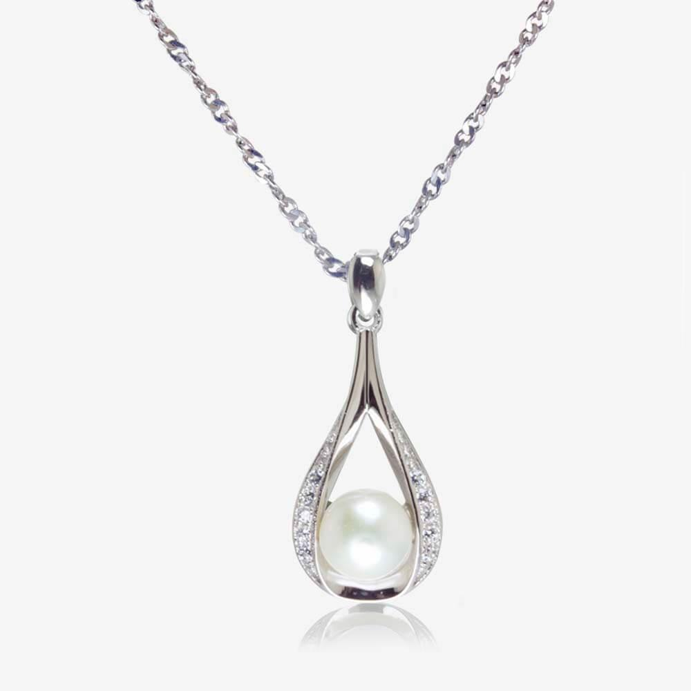 silver necklaces for women the suzette sterling silver cultured freshwater pearl necklace kcfhxom