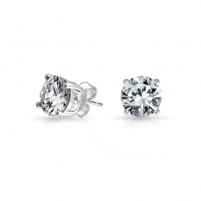 silver stud earrings ... bling jewelry cz stud earrings 925 sterling silver whegycb