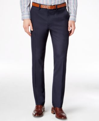 slim fit dress pants kenneth cole reaction menu0027s slim-fit stretch dress pants, created for macyu0027s sakvfci