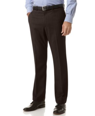 slim fit dress pants perry ellis portfolio slim fit no-iron flat front dress pants xxuhwla