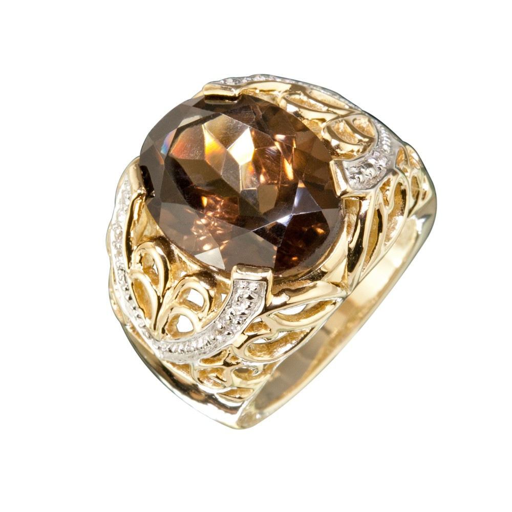 smokey topaz ring jsftbrd