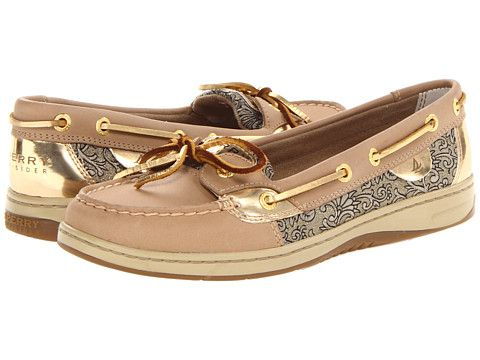 sperry top sider angelfish sperry top-sider angelfish linen/gold damask floral - zappos.com free  shipping tphtwnd