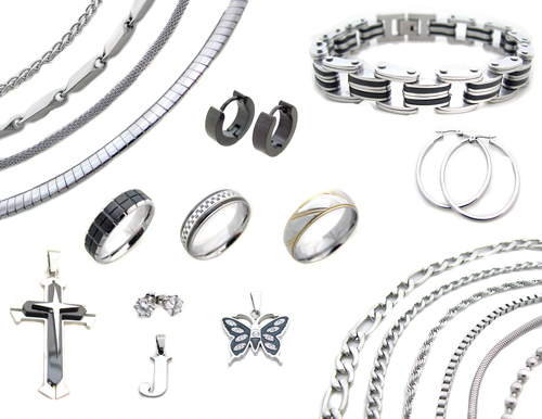 Stainless steel jewelry benefits to you for Do pawn shops buy stainless steel jewelry