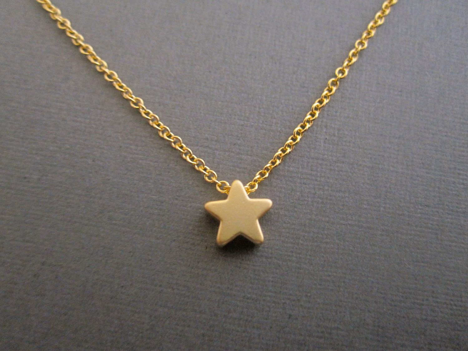 boutique necklace en silver happiness necklaces star