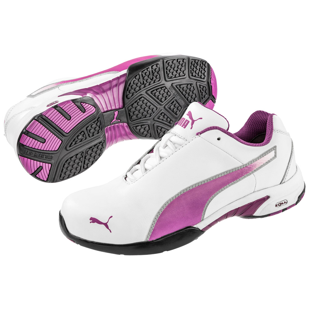 steel toe shoes for women puma velocity womenu0027s low steel toe work shoe 642805 ... jxvfzsj