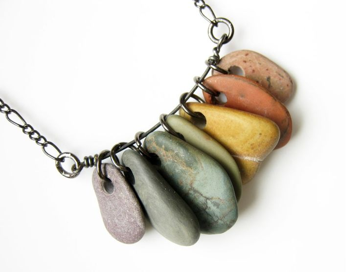 Stone jewelry a look at popular rough stones that are for How to make rock jewelry