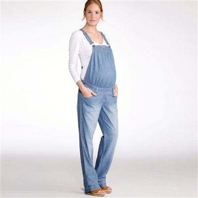 straight cut cotton denim maternity dungarees stonewashed blue+double  stonewashed blue snoosxu