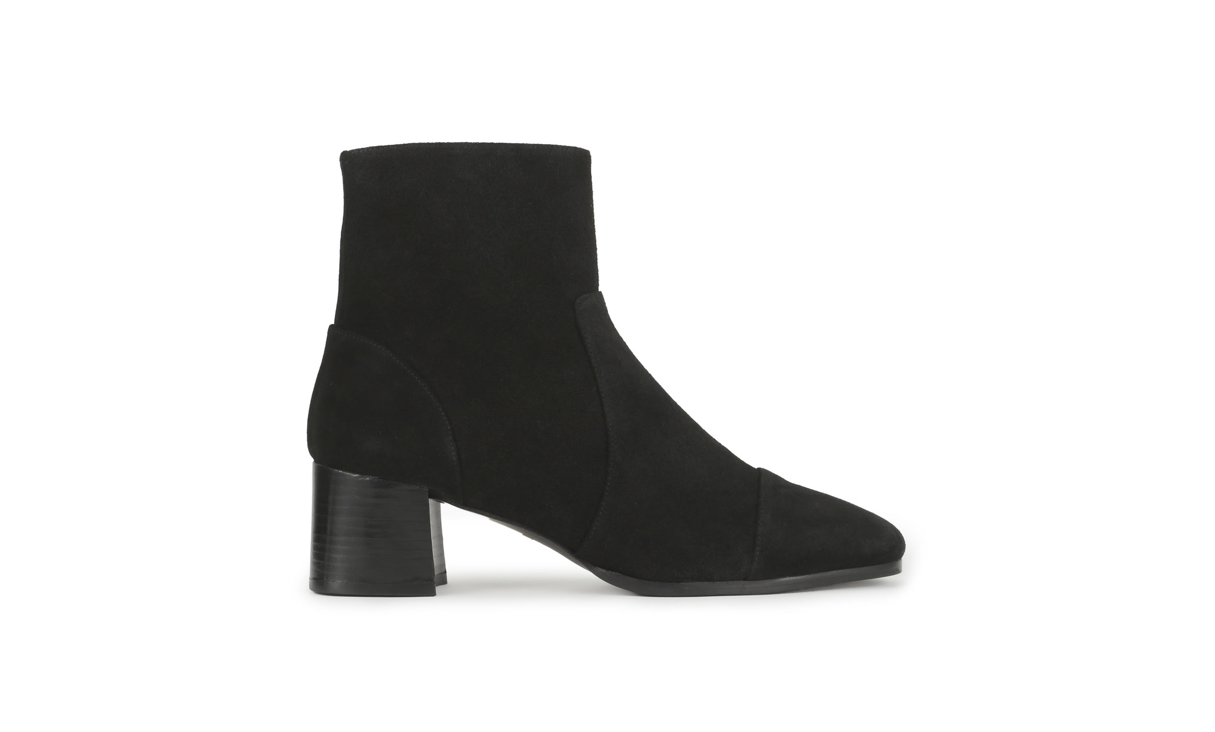 suede ankle boots bixa suede ankle boot, black | whistles qtrjcta