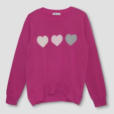 sweaters for girls girlsu0027 franki u0026 jack 3 hearts pullover sweater yruanha