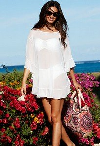 swimsuit coverups stylish white swimsuit cover up by bleu rod beattie baorqtk