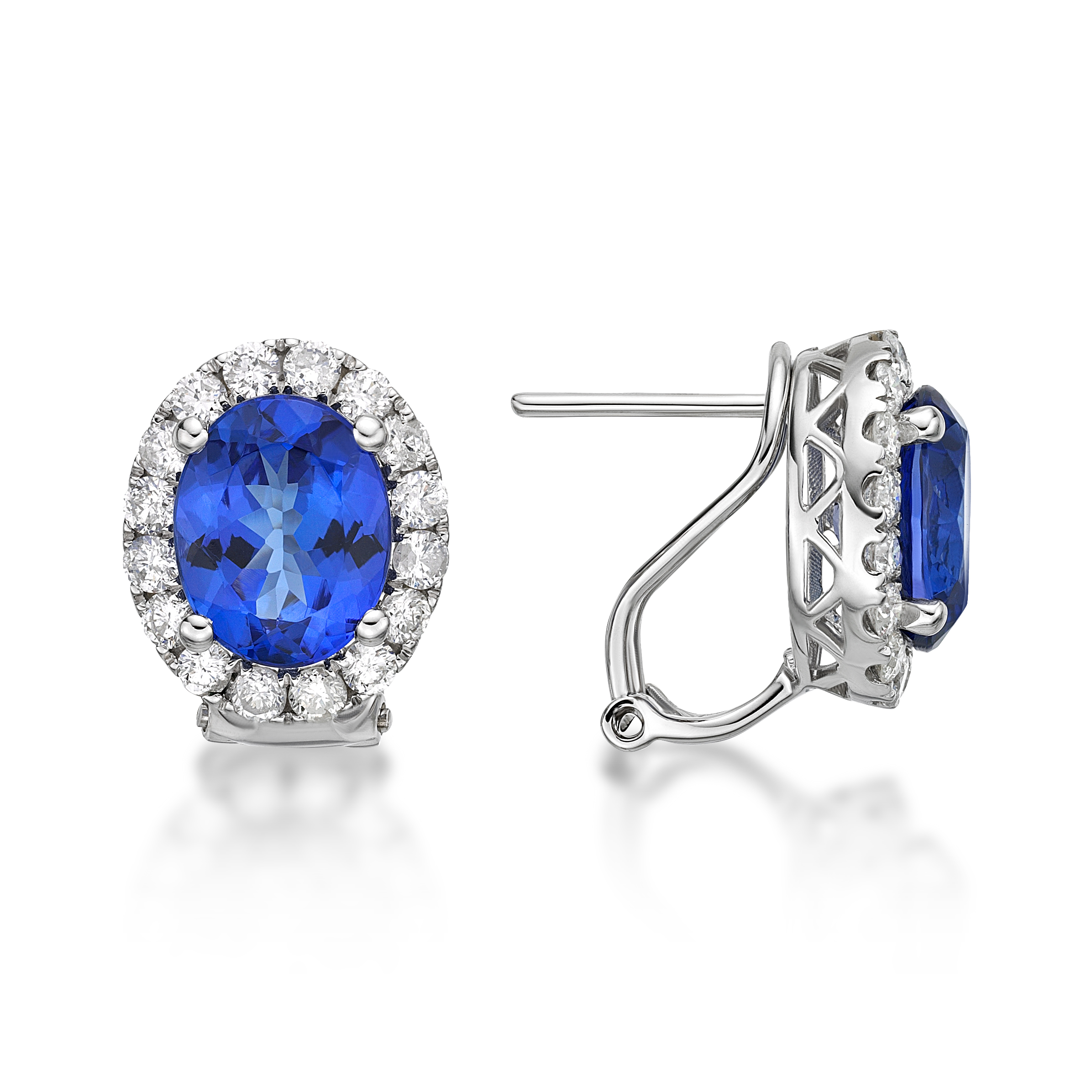 Get the Fancy of Colors on your Ears with Tanzanite Earrings