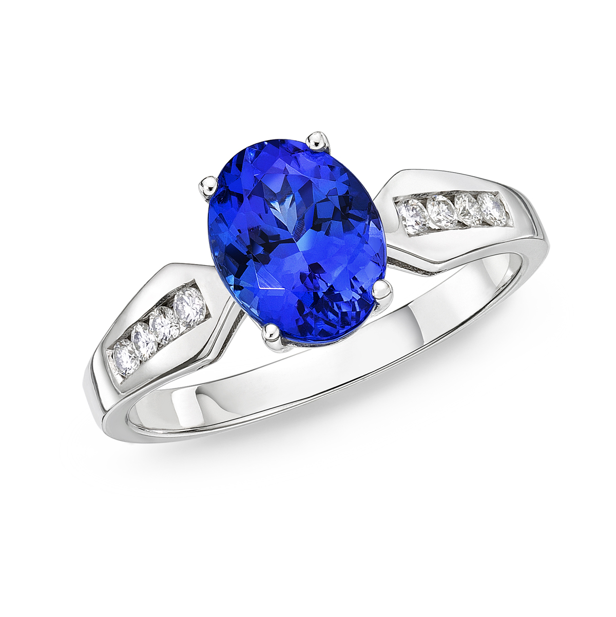 tanzanite rings eclipse oval tanzanite u0026 diamond ring lbsbwes