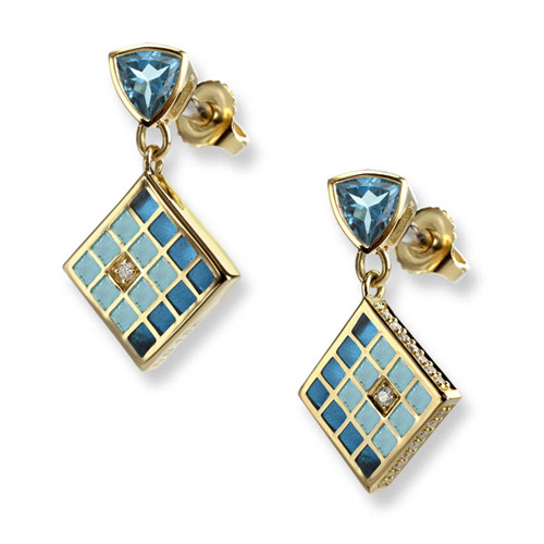the beauty of enamel jewelry nogktie