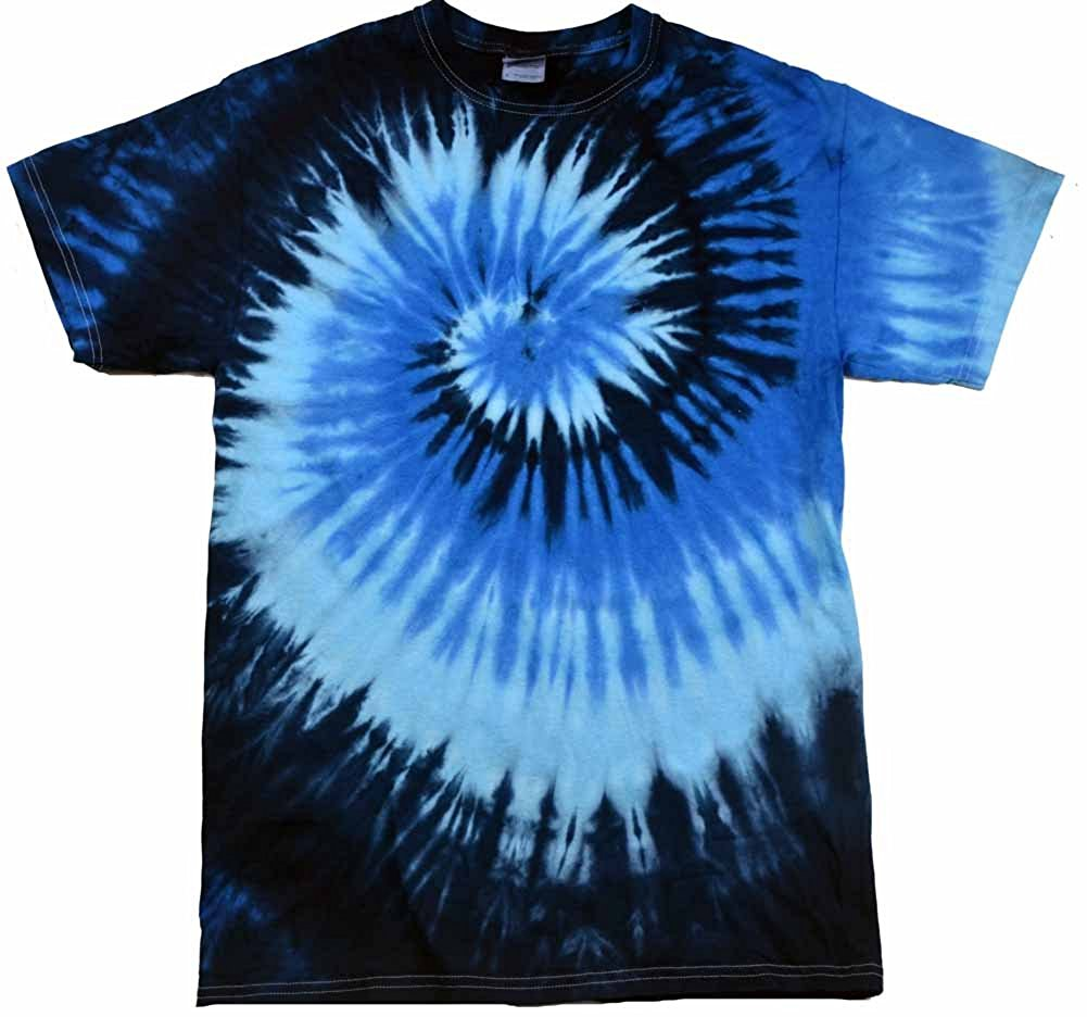 tie dye shirt amazon.com: colortone youth u0026 adult tie dye t-shirt: clothing fekbssw