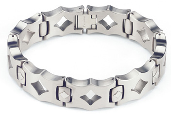 titanium bracelets titanium bracelet - the moderna - by forza tesori oiuhnld