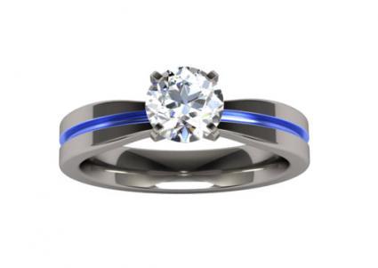 titanium engagement rings electra-solitaire-gem-titanium-ring rtlfdij