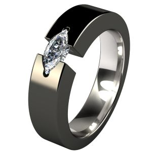 titanium engagement rings isis black titanium engagment ring gsfmotb