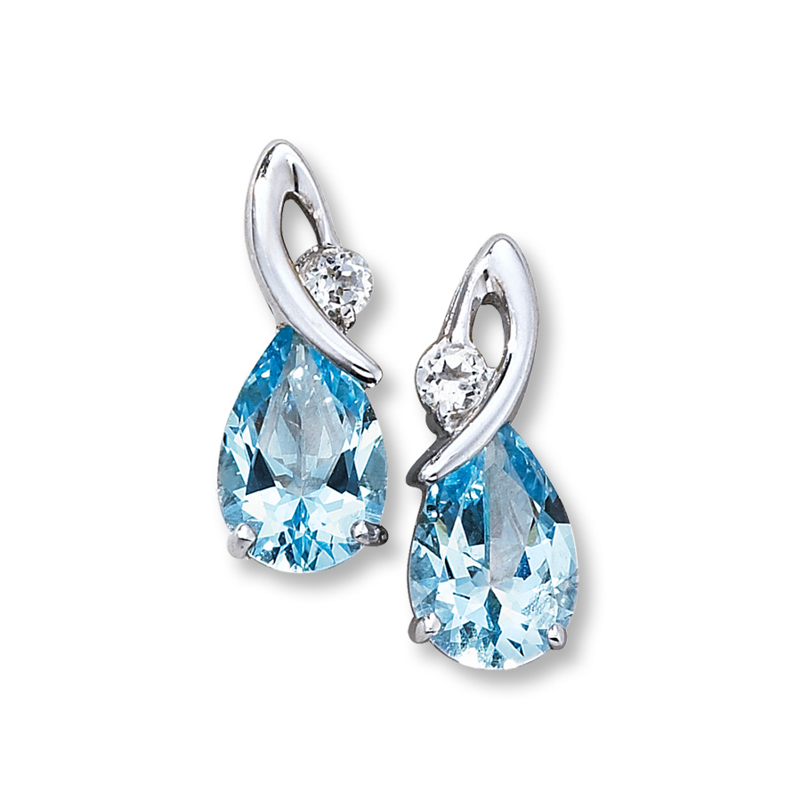 topaz earrings hover to zoom vrocyyi