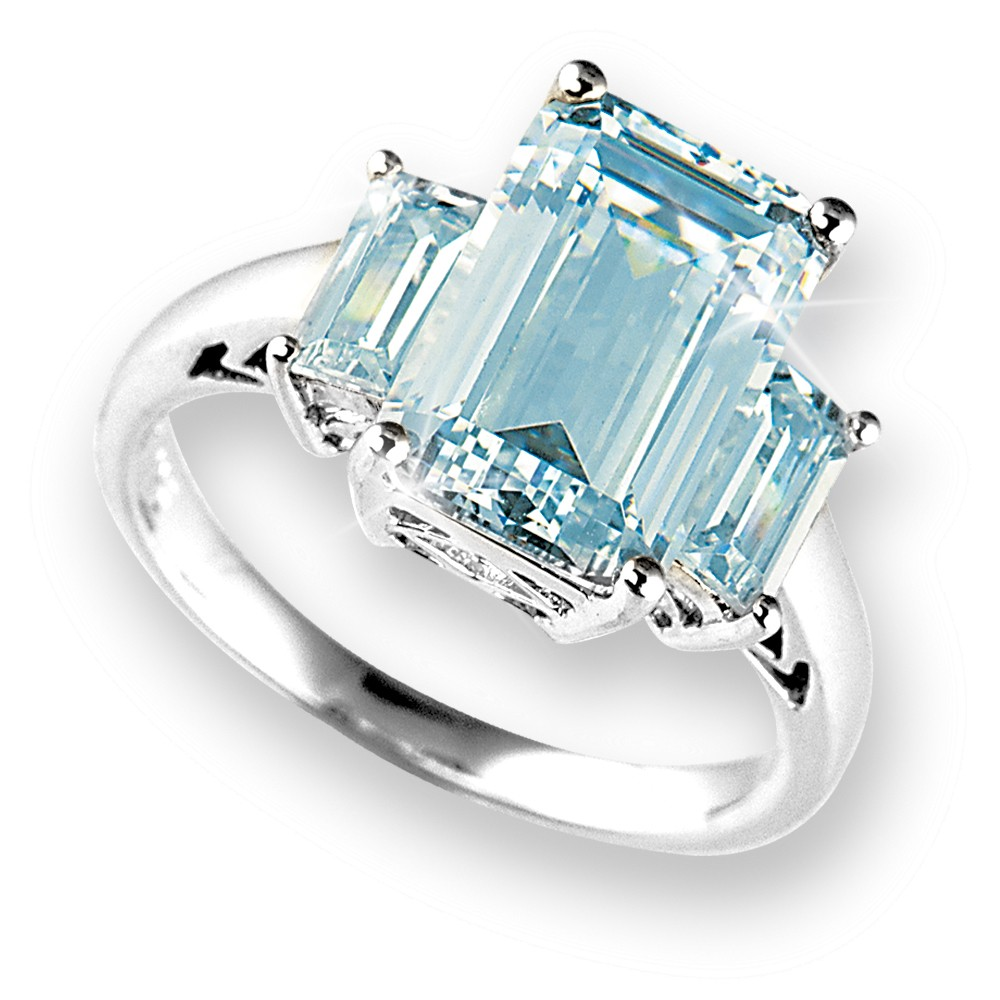 heart diamond gold ring topaz size white and shaped full rings blue