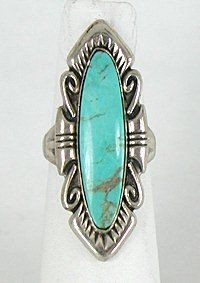 turquoise rings authentic vintage navajo sterling silver and turquoise ring irfghfj