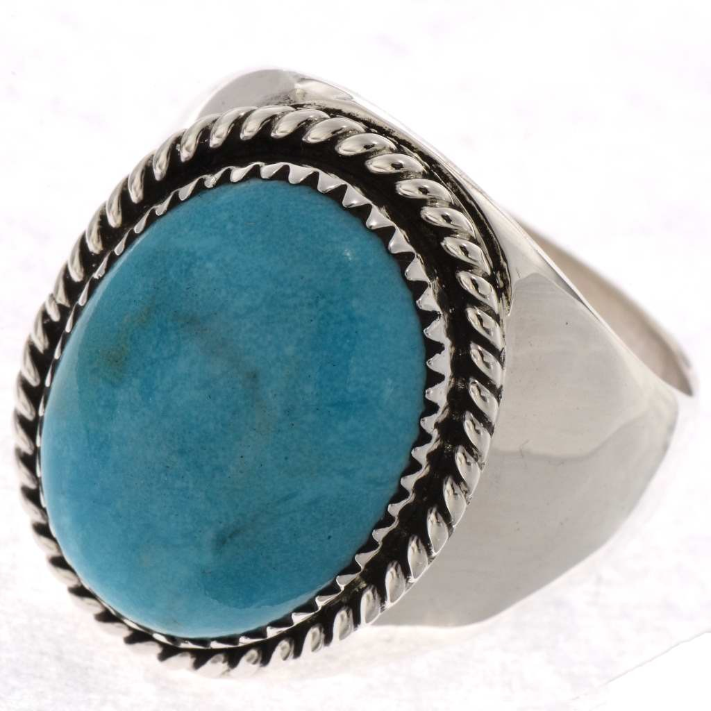 turquoise rings native american mens ring 22834 bmcrplc